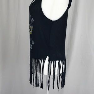 About A Girl Tops - About A Girl- Fringe tank size S